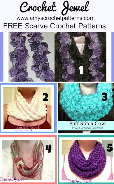 Amy\'s Crochet Creative Creations: Crochet Scarf Crochet Patterns for ...