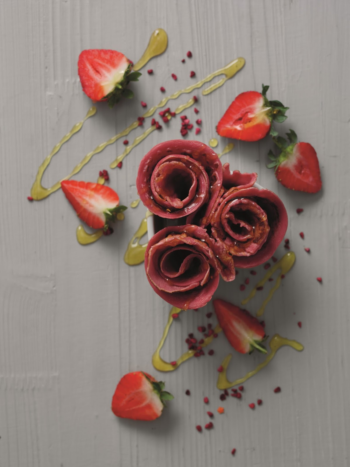 Pancake Roses: Creative Roses Bouquet You Can Eat