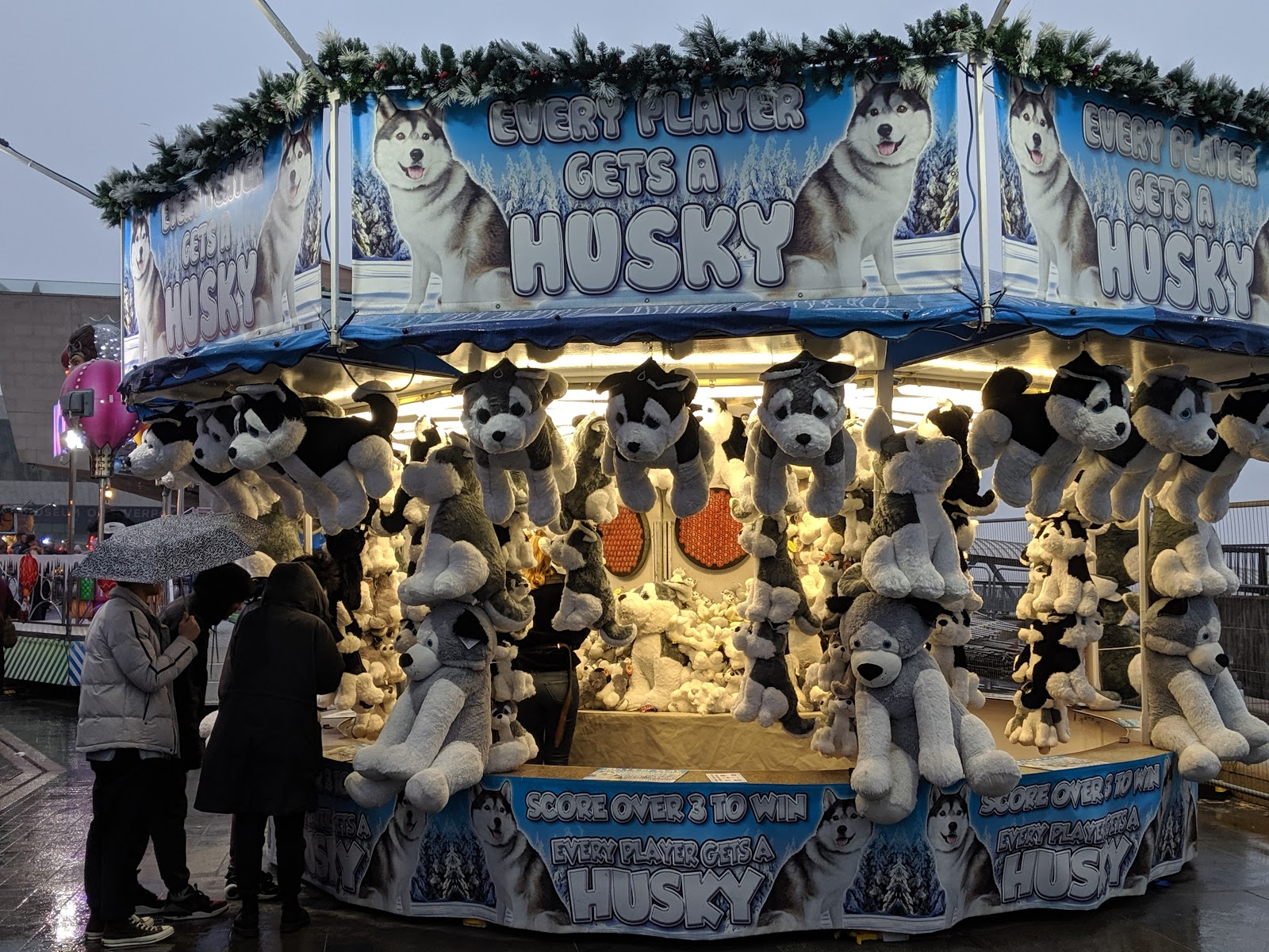 A Guide to Visiting Liverpool Christmas Markets & Lights  - Liverpool Ice Festival Stalls