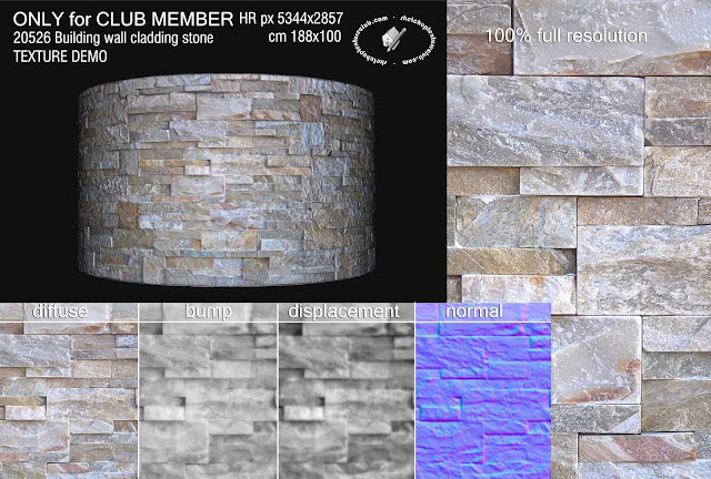 building wall cladding blocks stone texture seamless 20526
