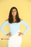 Anisha Ambrose Latest Pos Skirt at Fashion Designer Son of Ladies Tailor Movie Interview .COM 0690.JPG