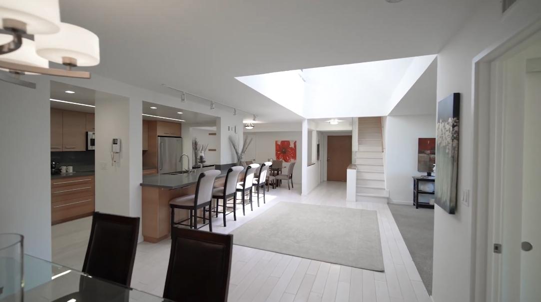 17 Interior Design Photos vs. 851 N Kings Rd #306, West Hollywood, CA Condo Penthouse Tour