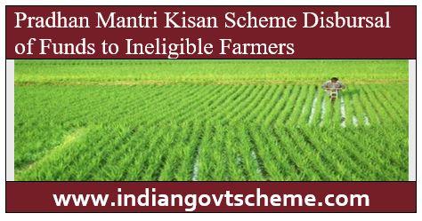 Pradhan Mantri Kisan Scheme