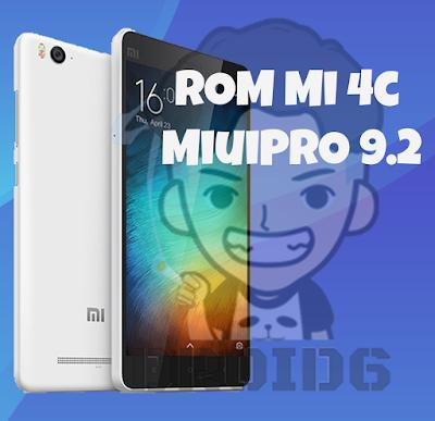 ROM Xiaomi Mi 4c [libra] MiuiPRO 9.2