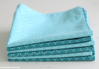 DIY Double-Sided Cloth Napkin