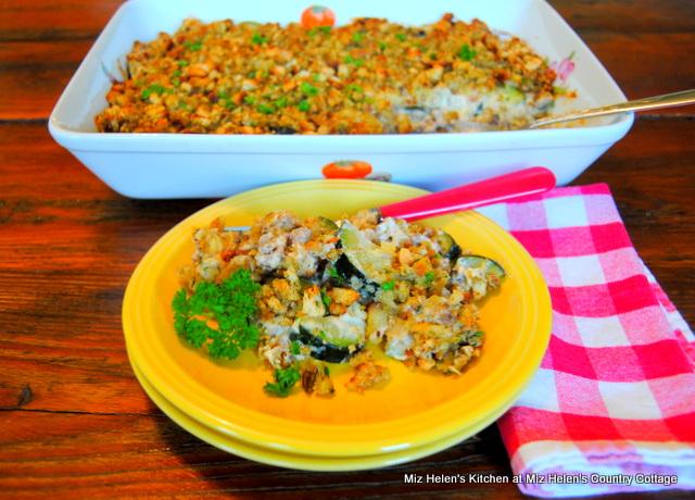 Zucchini Garden Casserole With Sausage