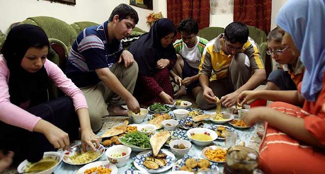 menu buka puasa bukber bersama keluarga