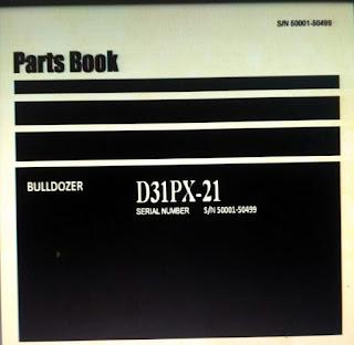 Parts Book D31PX-21 S/N 50001-50499