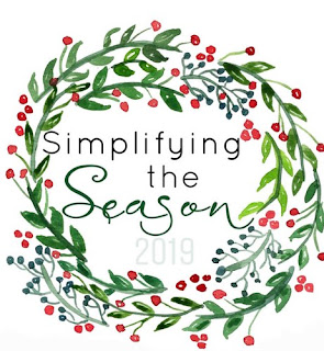 Thoughts on Simplifying the Season // Blog Hop on Work it Mommy blog
