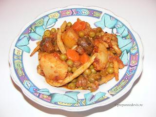 Ghiveci de legume cu ciuperci retete culinare,