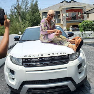 '2 Weeks Ago I Prayed For A Car And I Got Range Rover Evoque' - Actress Iyabo Ojo