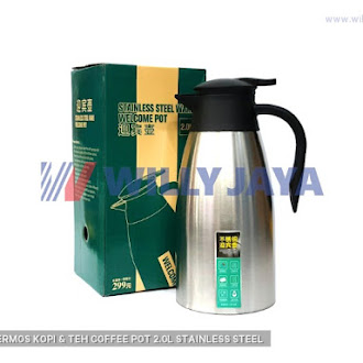 OTH - THERMOS KOPI & TEH/ COFFEE POT 2.0L STAINLESS STEEL