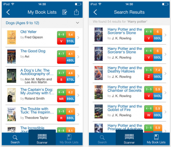 Organize Leveled Reading Lists With Book Wizard Mobile
