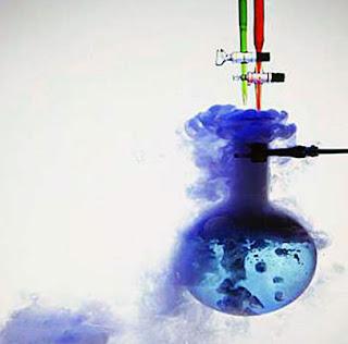 ilustrasi reaksi kimia