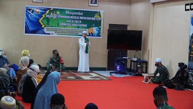 Tingkatkan Ketaqwaan Diri, Jajaran Kodim 1011/Kuala Kapuas Peringati Nuzulul Qur'an