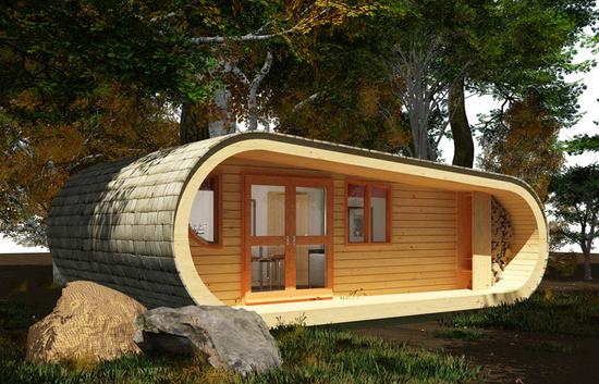 Casas modulares y prefabricadas de diseño: Eco Perch, la casa modular ecologica