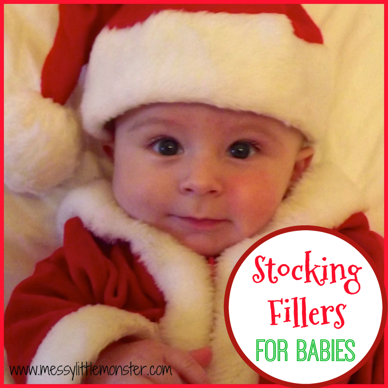 Stocking fillers for babies - Baby stocking stuffers.