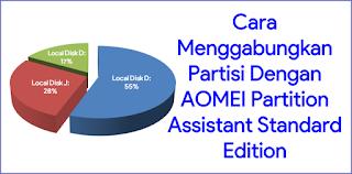 Cara Menggabungkan Partisi Dengan AOMEI Partition Assistant Standard Edition