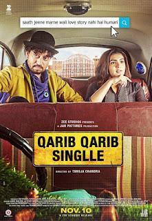 Qarib Qarib Singlle First Look Poster