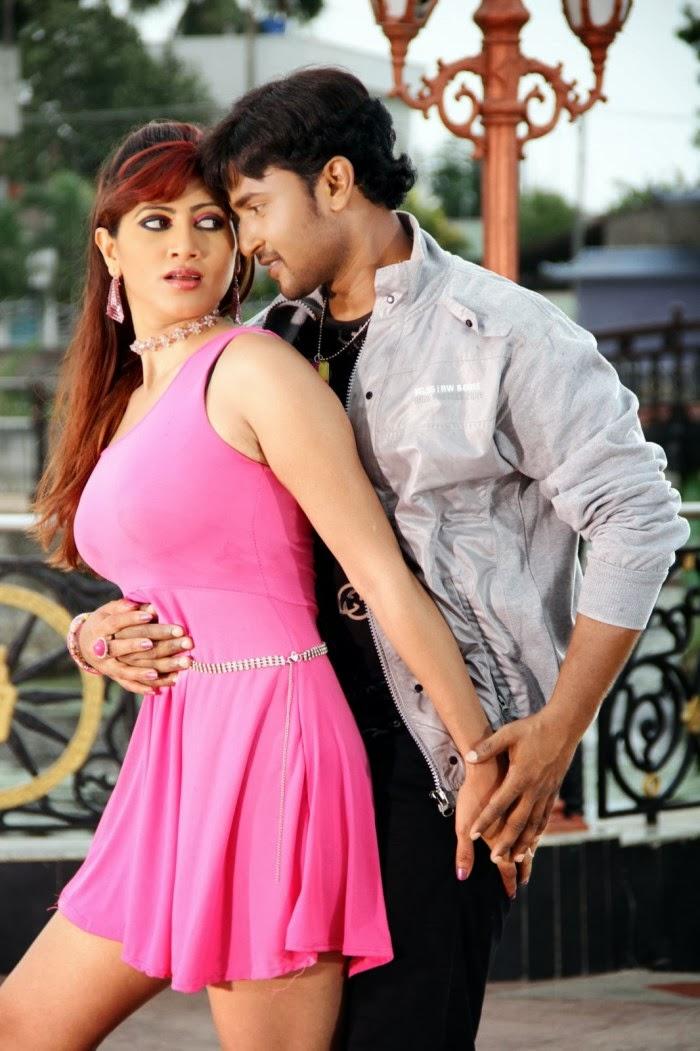 Rishika in pink short dress, Rishika hot photos
