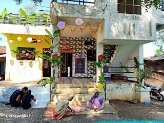 जनपद पंचायत खकनार की 27 ग्राम पंचायतों में प्रधानमंत्री आवासों में हुआ गृह प्रवेश