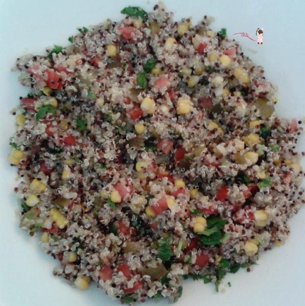 Kinoa Salatası Yapılışı