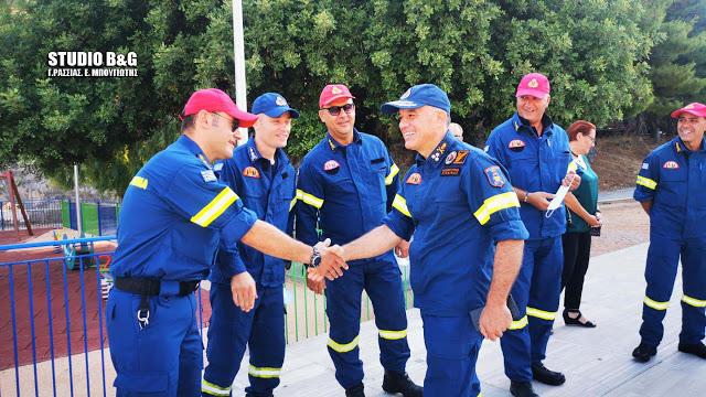 Με εντολή του Αρχηγού του Πυροσβεστικού Σώματος θα σταθμεύει μόνιμα όχημα της Πυροσβεστικής στις Μυκήνες