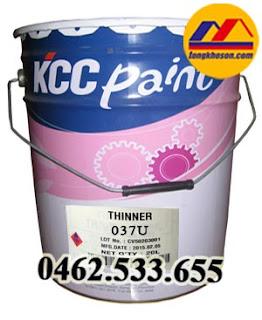 Dung môi pha sơn epoxy gốc Pu KCC 037U