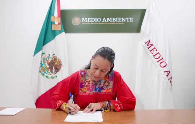 Firman Semarnat y la EPA programa ambiental México-Estados Unidos, Frontera 2025