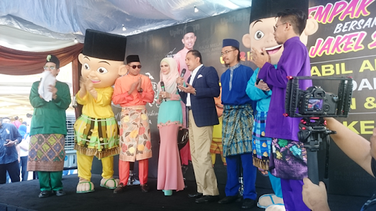 Nabil Ahmad and Upin & Ipin 2015 Raya Collection by Jakel  | Mieza Everdeen