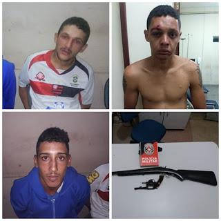 Homem é baleado por populares e três são presos por policiais em Sossego