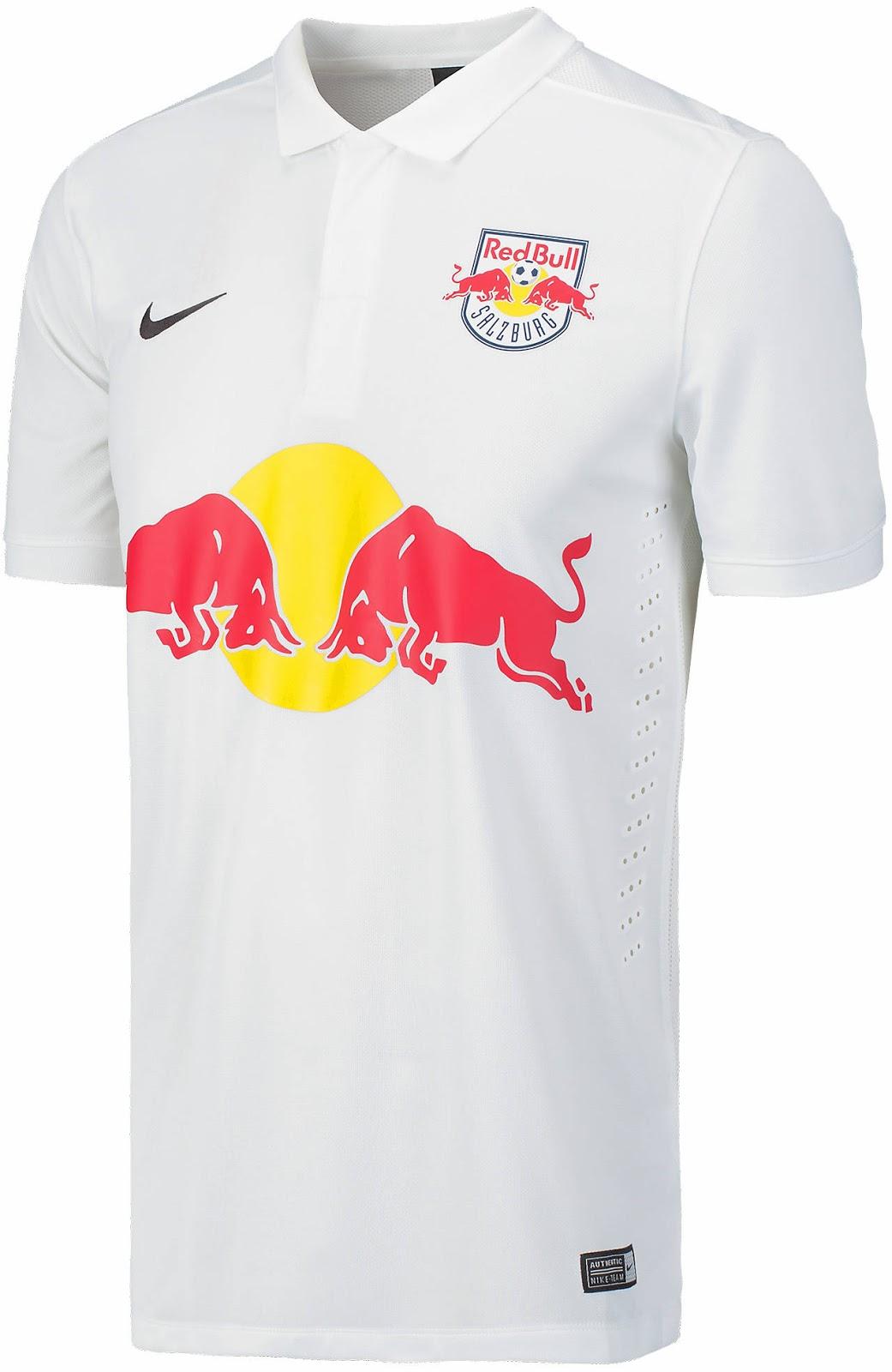 Red Bull Salzburg 14-15 Trikots Veröffentlicht