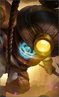 Cyclops Super Adventurer Heroes Mage of Skins V3
