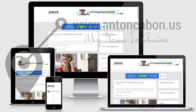 Aniva Responsive Blogger Template
