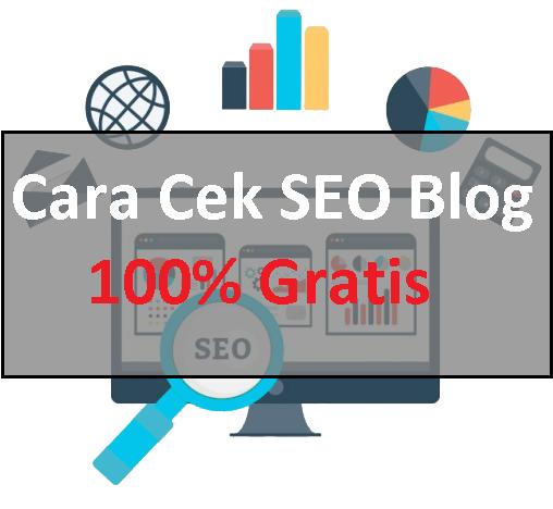 Cara Cek SEO Blog 100% Gratis