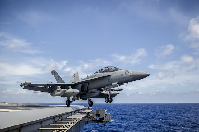 SUPER HORNETS AND GROWLERS RESUME FLYING
