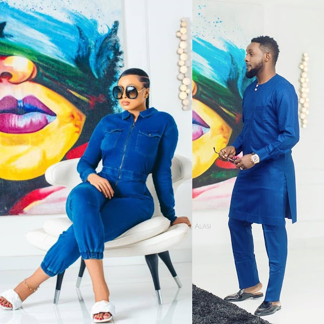 'Between Me & My Wife, Who Rocked It Better?' - Comedian AY Drops Cute Photos And Wife