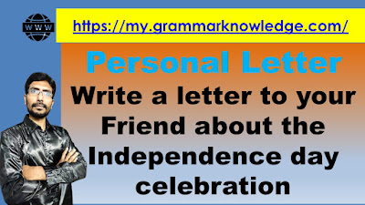 Write a letter to your Friend