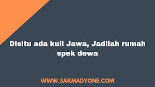 Quotes Lucu Kuli Jawa