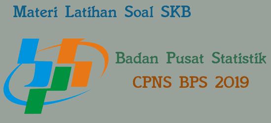 latihan soal skb bps cpns 2019