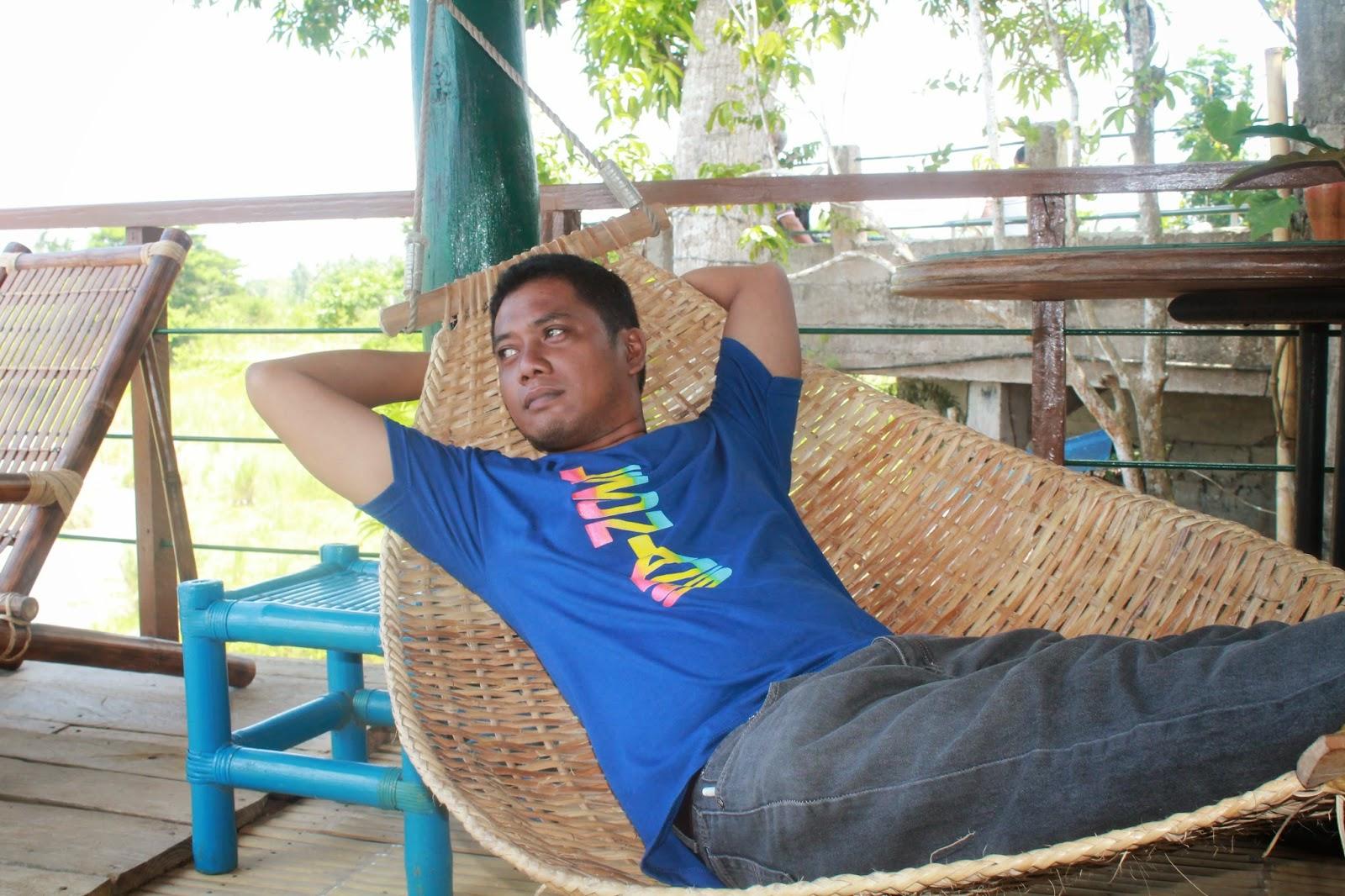 Relaxing at Kalbs Place at Lezo, Aklan.