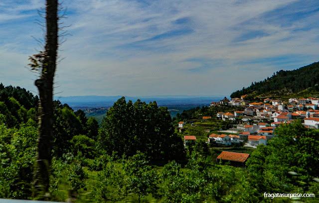 Estrada na Serra da Estrela, Portugal