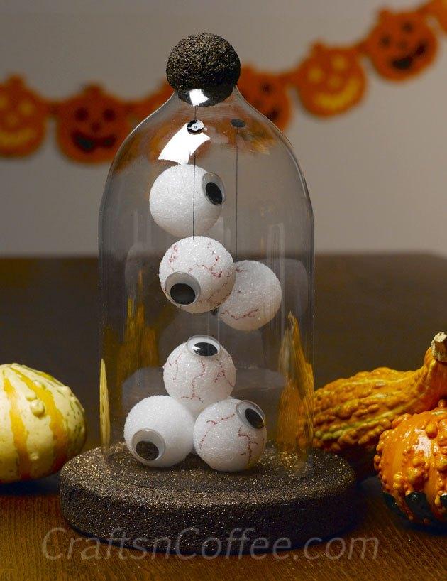 Halloween Eyeball Cloche