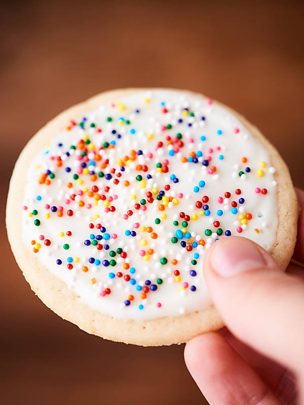 easy sugar cookies recipe  with cream cheese