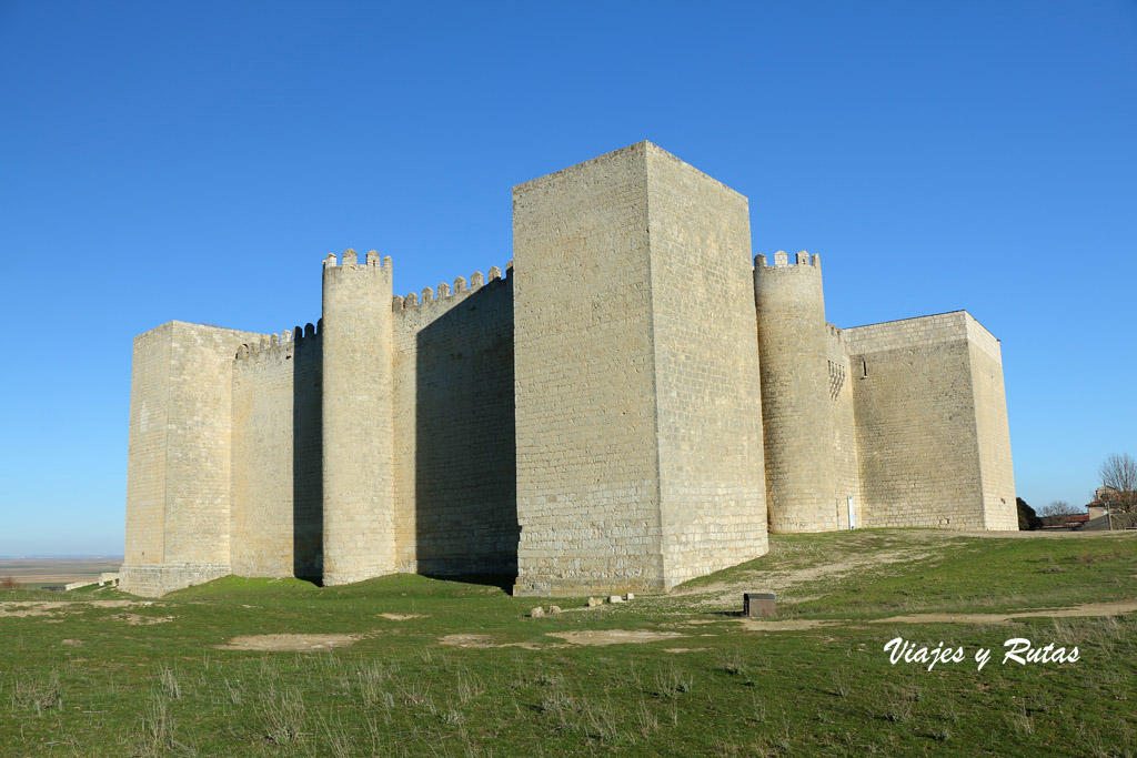 Castillo de Montealegre de Campos de Valladolid