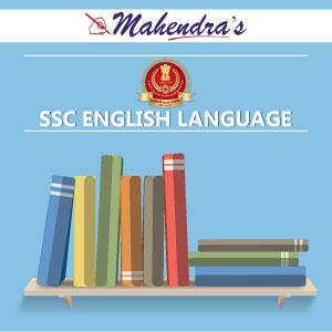 SSC CHSL Quiz : English Language | 31.05.19