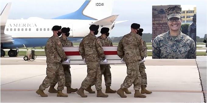 Restos de la sargento Johanny Rosario llegarán el sábado 11  a Massachusetts y funerales serán el martes 14 en Lawrence