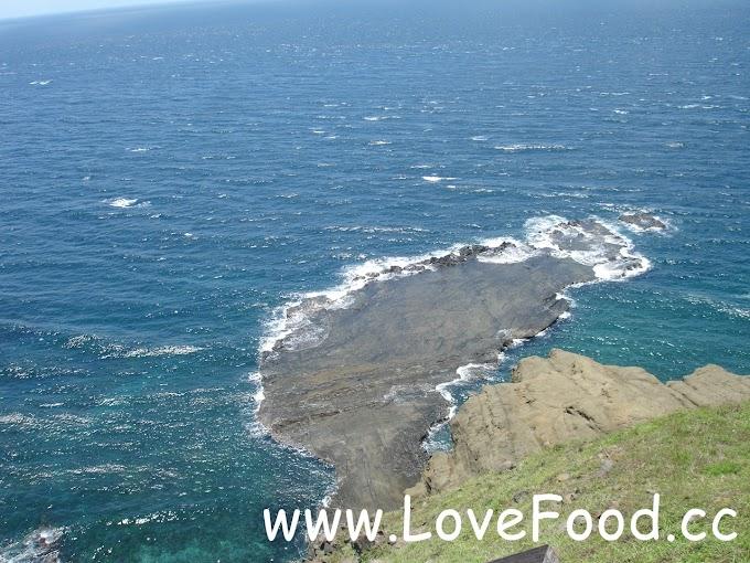 澎湖七美-小台灣與牛姆坪風景區-天然海蝕平台 貌似台灣的輪廓-xiao tai wan