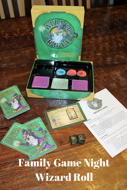 Family Game Night Wizard Roll, family games, for kids, family, things to do, for her, for him, games, entertainment
