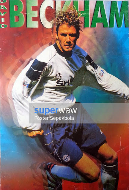 David Beckham Manchester United 1999